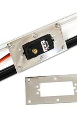 MakerBeam - 10x10mm aluminum profile 1 piece Servo bracket for MakerBeam