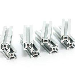 MakerBeam - 10x10mm aluminum profile 40mm (8p) clear MakerBeam