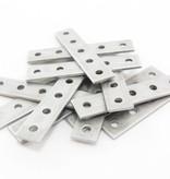 MakerBeam 12 pieces of MakerBeam Straight brackets (OpenBeam compatible)