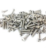 MakerBeam 100 pieces, M3, 12mm, MakerBeam square headed bolts with hex hole