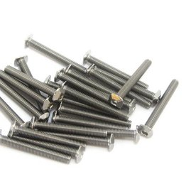 MakerBeam - 10x10mm aluminum profile Square headed bolts 25mm (25p) for MakerBeam