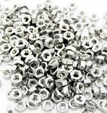 MakerBeam 250 pieces, M3 regular nuts compatible with both MakerBeam and OpenBeam bolts