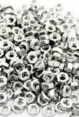 MakerBeam - 10x10mm aluminum profile 250 pieces, M3 regular nuts compatible with both MakerBeam and OpenBeam bolts