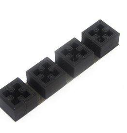 MakerBeam - 10x10mm aluminum profile 3D Printed End Caps for MakerBeam (4p)