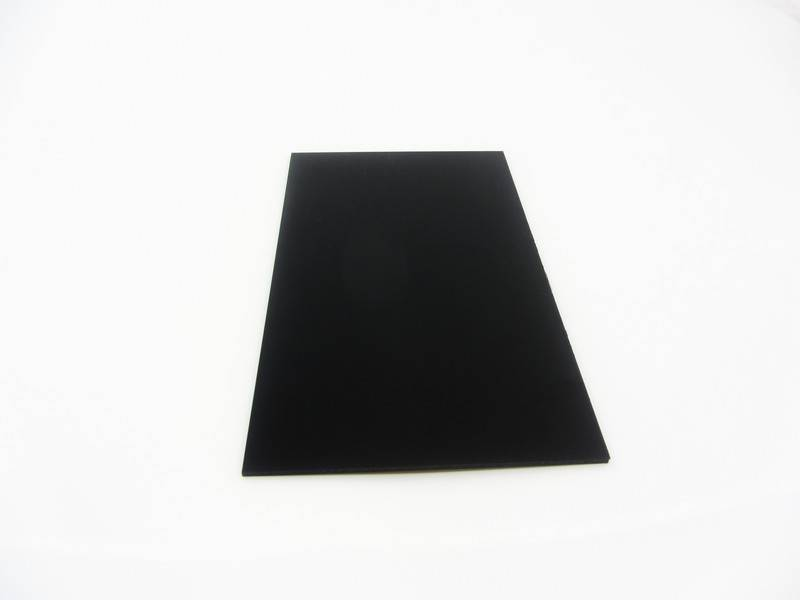 MakerBeam 1 piece polystyrene sheet, 300mmx200mmx3mm, black
