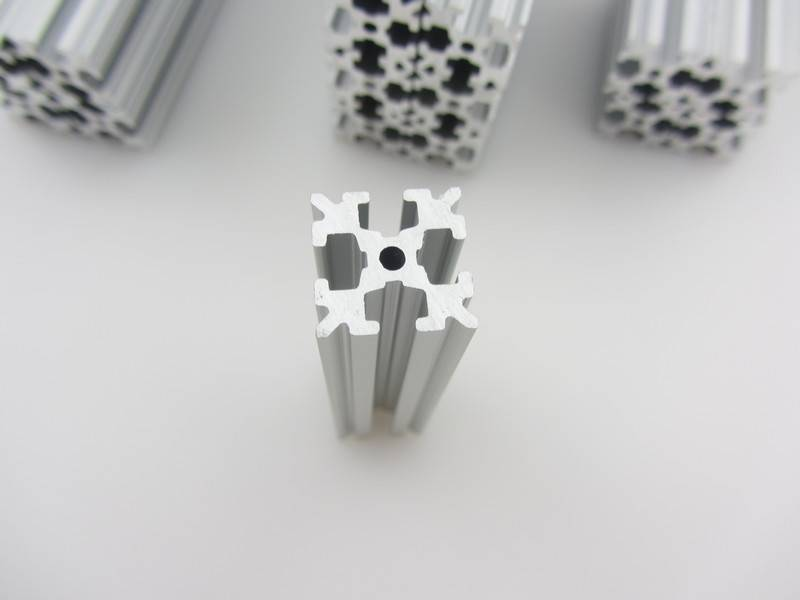 OpenBeam - 15x15mm aluminum profile 4 pieces of 210mm clear anodised OpenBeam