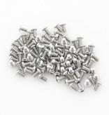 OpenBeam 100 pieces, M3, 6mm, button head socket bolt for OpenBeam