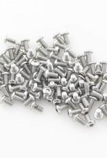 OpenBeam - 15x15mm aluminum profile 100 pieces, M3, 6mm, button head socket bolt for OpenBeam
