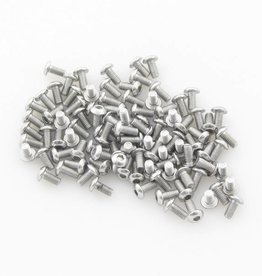 OpenBeam - 15x15mm aluminum profile Button head socket bolt 6mm (100p) for OpenBeam