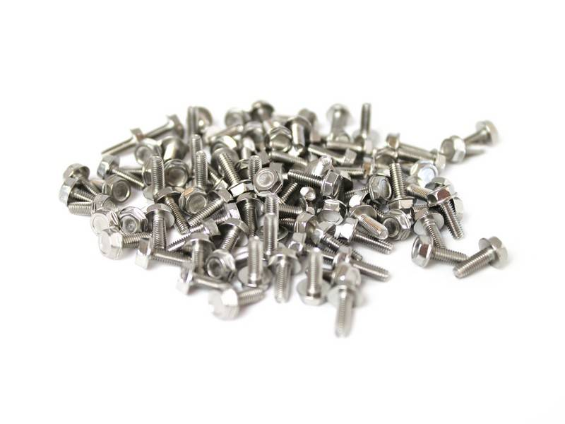 OpenBeam 100 pieces, M3, 8mm, thread forming screws and grease syringe for OpenBeam
