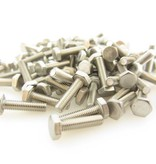 OpenBeam 100 pieces, M3, 12mm, hexagon head bolts for OpenBeam