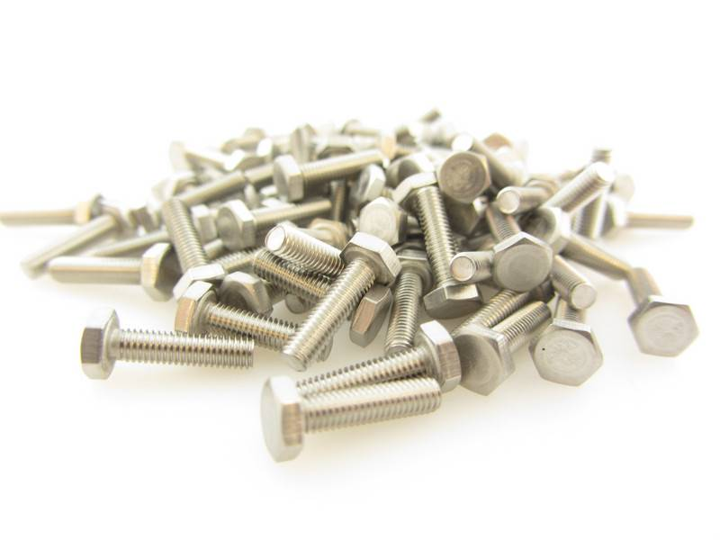 OpenBeam 100 pieces, M3, 12mm, hexagon head bolts for OpenBeam