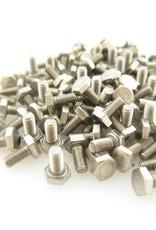 OpenBeam 100 pieces, M3, 6mm, hexagon head bolts for OpenBeam