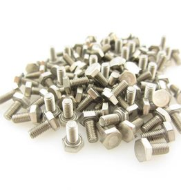 OpenBeam - 15x15mm aluminum profile Hexagon head bolts 6mm (100p) for OpenBeam