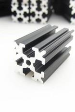 OpenBeam 3 pieces of 600mm black anodised OpenBeam