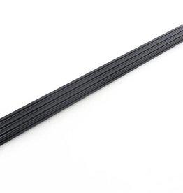 OpenBeam - 15x15mm aluminum profile 600mm (3p) black OpenBeam (Kossel Mini)