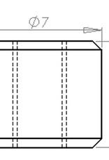 PCB Grip PCBGrip Thumb Nut M3x0,5, 25 pieces, 10023