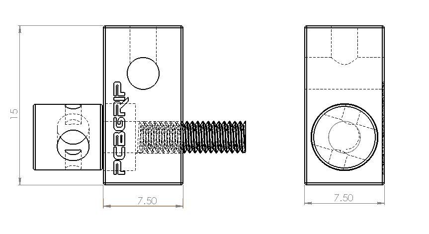 PCB Grip PCBGrip Variable Tee, 4 pieces, 20003
