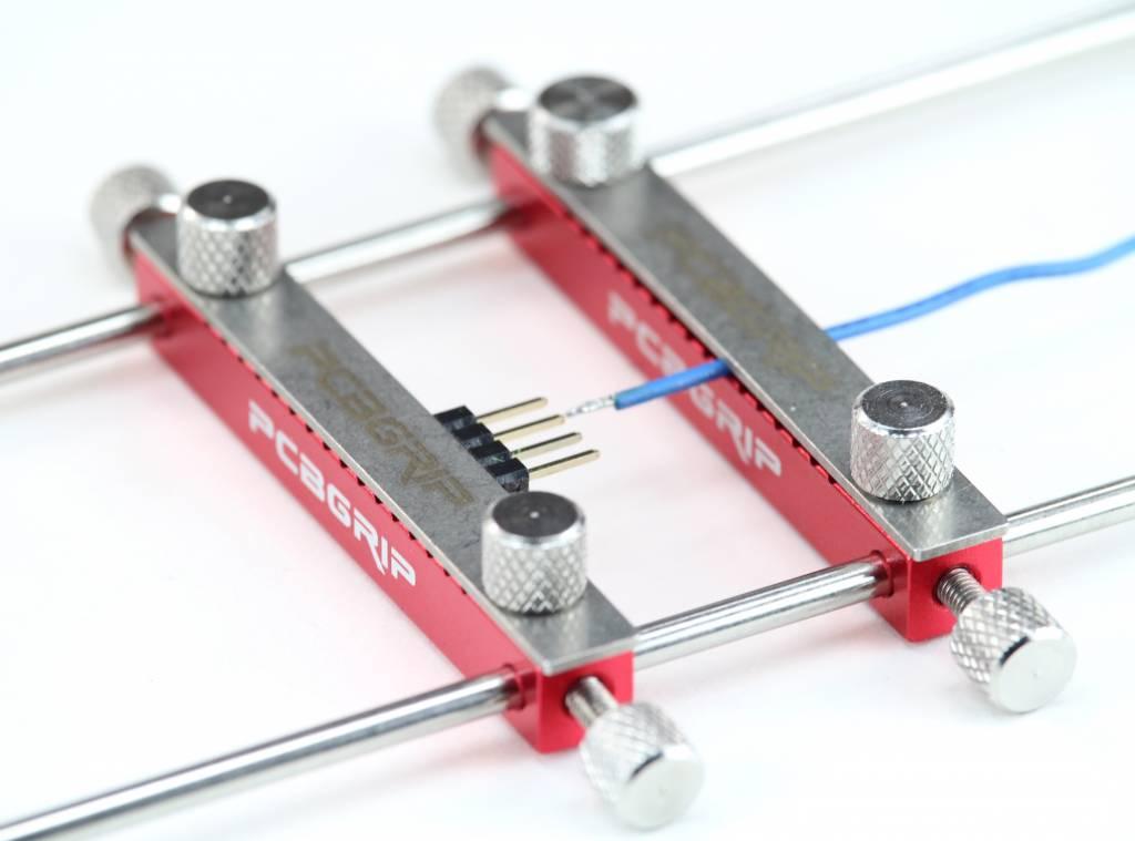 PCB Grip - an electronics assembly system PCBGrip Clamp, 2 pieces, 20006