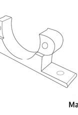 MakerBeam 1 piece Micro stepper bracket for MakerBeam