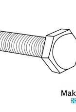 OpenBeam 25 pieces, M3, 25mm, hexagon head bolts for OpenBeam