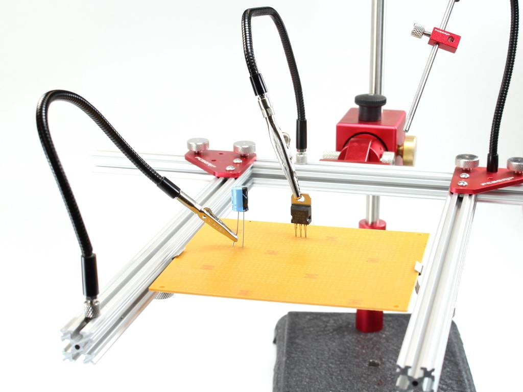 PCB Grip - an electronics assembly system PCBGrip Gooseneck, 1 piece, 10034