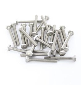 OpenBeam - 15x15mm aluminum profile Hexagon head bolts 25mm (25p) for OpenBeam