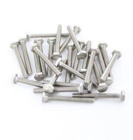 OpenBeam Hexagon head bolts 25mm (25p) for OpenBeam
