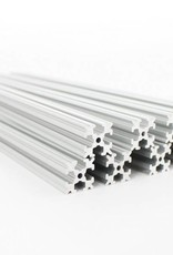 OpenBeam - 15x15mm aluminum profile 9 pieces of 240mm clear anodised OpenBeam