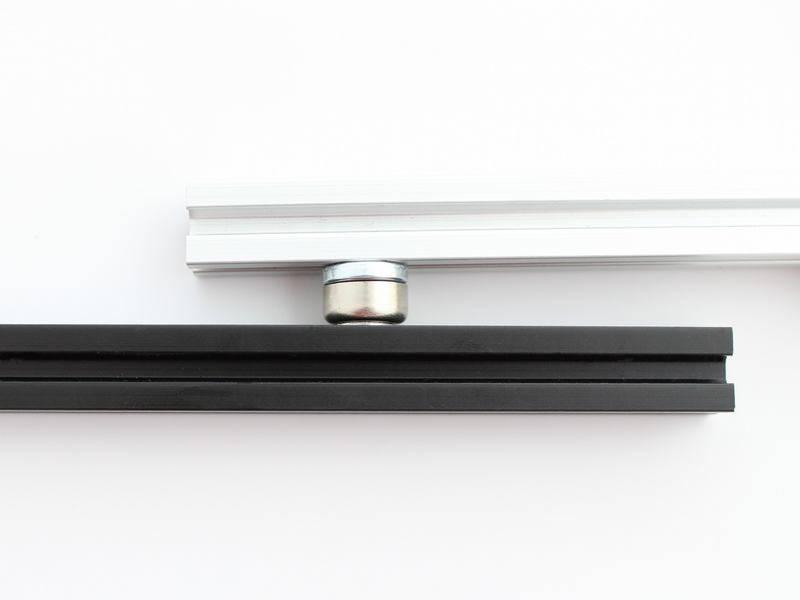 MakerBeam - 10x10mm aluminum profile Magnets for MakerBeam (2p)