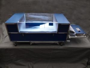 Deskbreeze: desktop size windtunnel