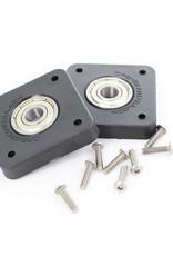 OpenBeam 2 pieces 608 Bearing to NEMA17 adapter (2p) for OpenBeam