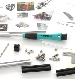 MakerBeam Hex nut driver and MakerBeam samples