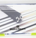MakerBeam Black Starter Kit Regular MakerBeam