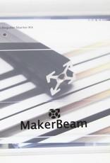 MakerBeam Black Starter Kit Regular MakerBeam