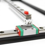 MakerBeam 1 piece of 600mm linear slide rail and carriage