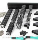 OpenBeam Black Precut Kit Black OpenBeam
