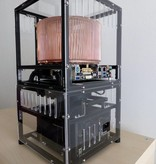 MakerBeam 1 piece polycarbonate sheet, 300mmx200mmx3mm, transparent