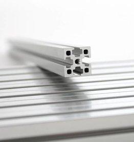 MakerBeamXL - 15x15mm aluminum profile 750mm (1p) clear MakerBeamXL (15mmx15mm)
