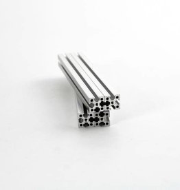 MakerBeamXL - 15x15mm aluminum profile 150mm (4p) clear MakerBeamXL (15mmx15mm)