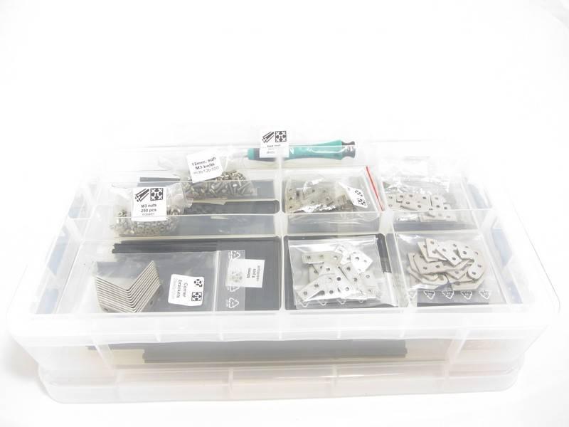 MakerBeamXL Black Premium MakerBeamXL Starter Kit