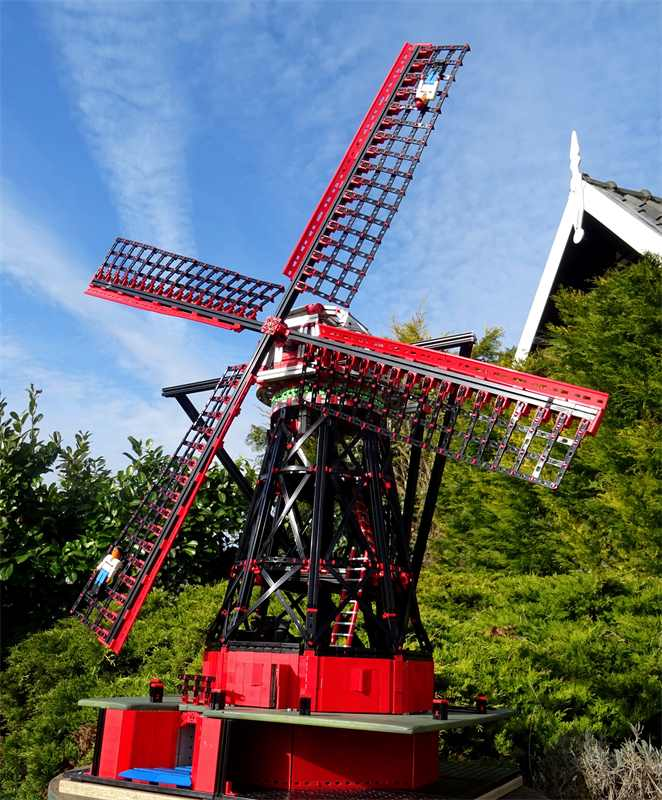 Windmill: Fisher Technik and MakerBeamXL