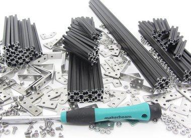 MakerBeam - 10x10mm profile - kits