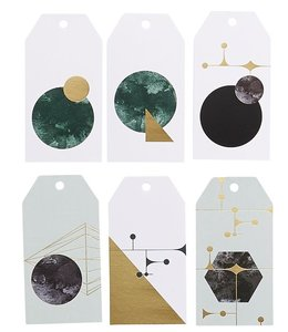 House Doctor Geometry Gift Tags