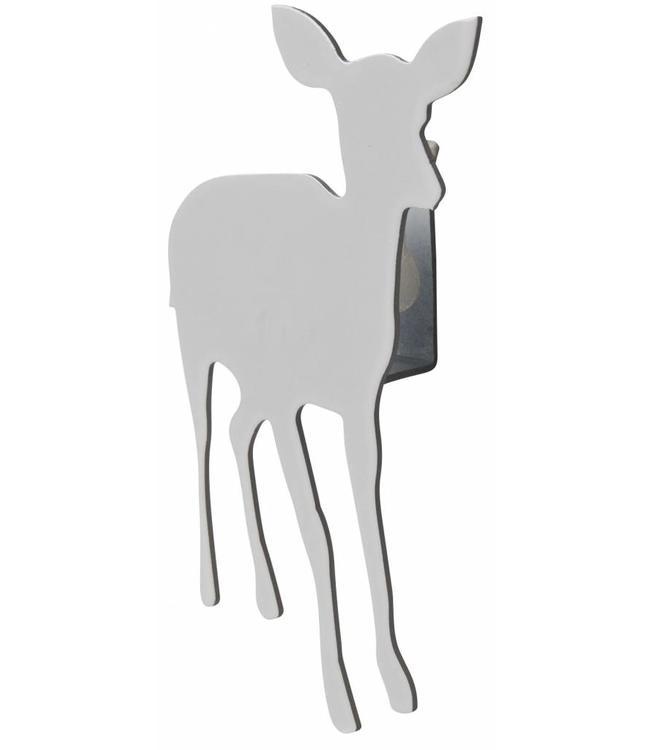 Pluto Produkter Kid deer small wall hanger white