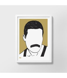 Bold & Noble Screen print | Freddie