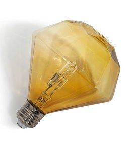 Diamant Lamp   Cognac