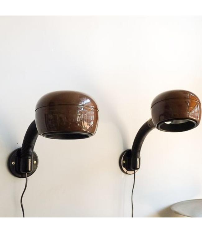 Vintage Set wall lamps Fagerhults Cobra