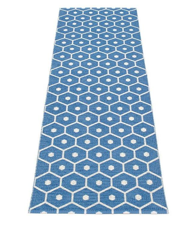 Pappelina Rug Honey Blue Vanille