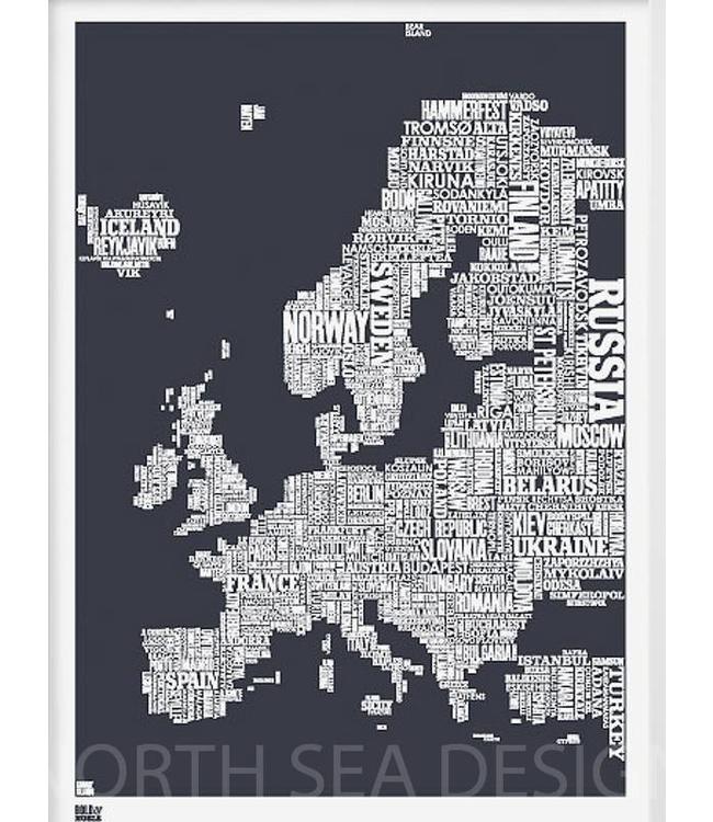 Bold & Noble Zeefdruk Europa